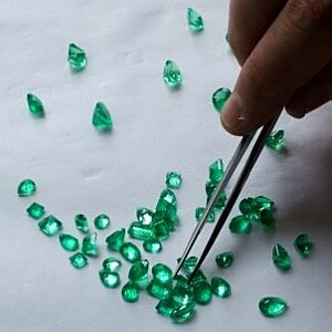 Sorting emerald clean parcel